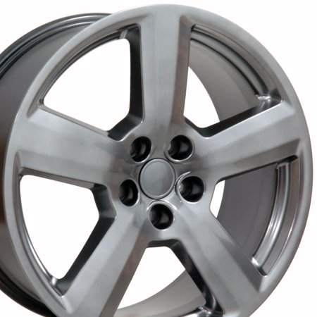 OE Wheels 18 Inch RS6 Style | Fits Volkswagen CC Beetle Audi A3 A8 A4 A5 A6 TT | AU03 Hyper Silver 18x8