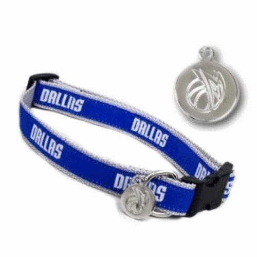 Dallas Mavericks Dog Collar - M/L
