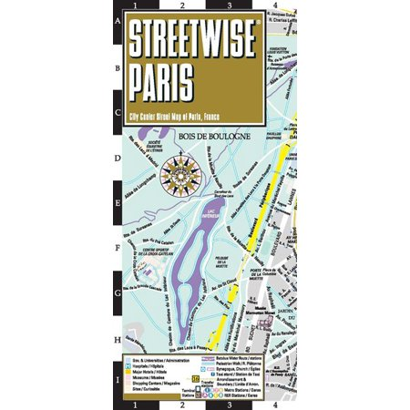 Streetwise paris map - laminated city center street map of paris, france - folded map: 9782067229785 (Maps Paris)