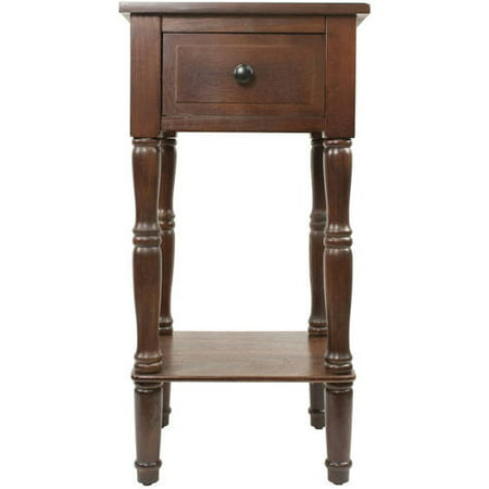 Accent Table with One Drawer ()