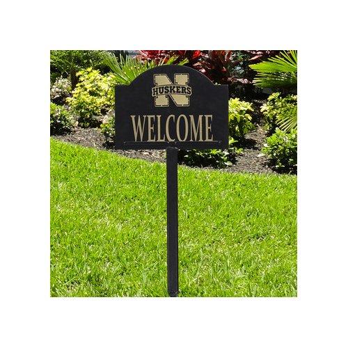 Henson Metal Works Collegiate Yard Welcome Garden Sign