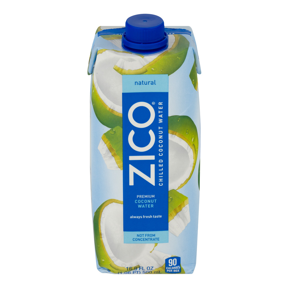 Zico Chilled Coconut Water Natural, 16.9 FL OZ