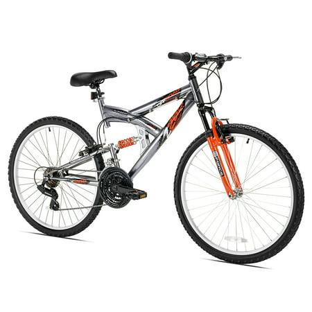 Dual Suspension Mountain Bike >> Northwoods Z265 26 Men S Dual Suspension 21 Speed Lightweight