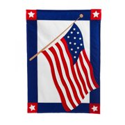 Evergreen Enterprises, Inc American Flag Garden Flag