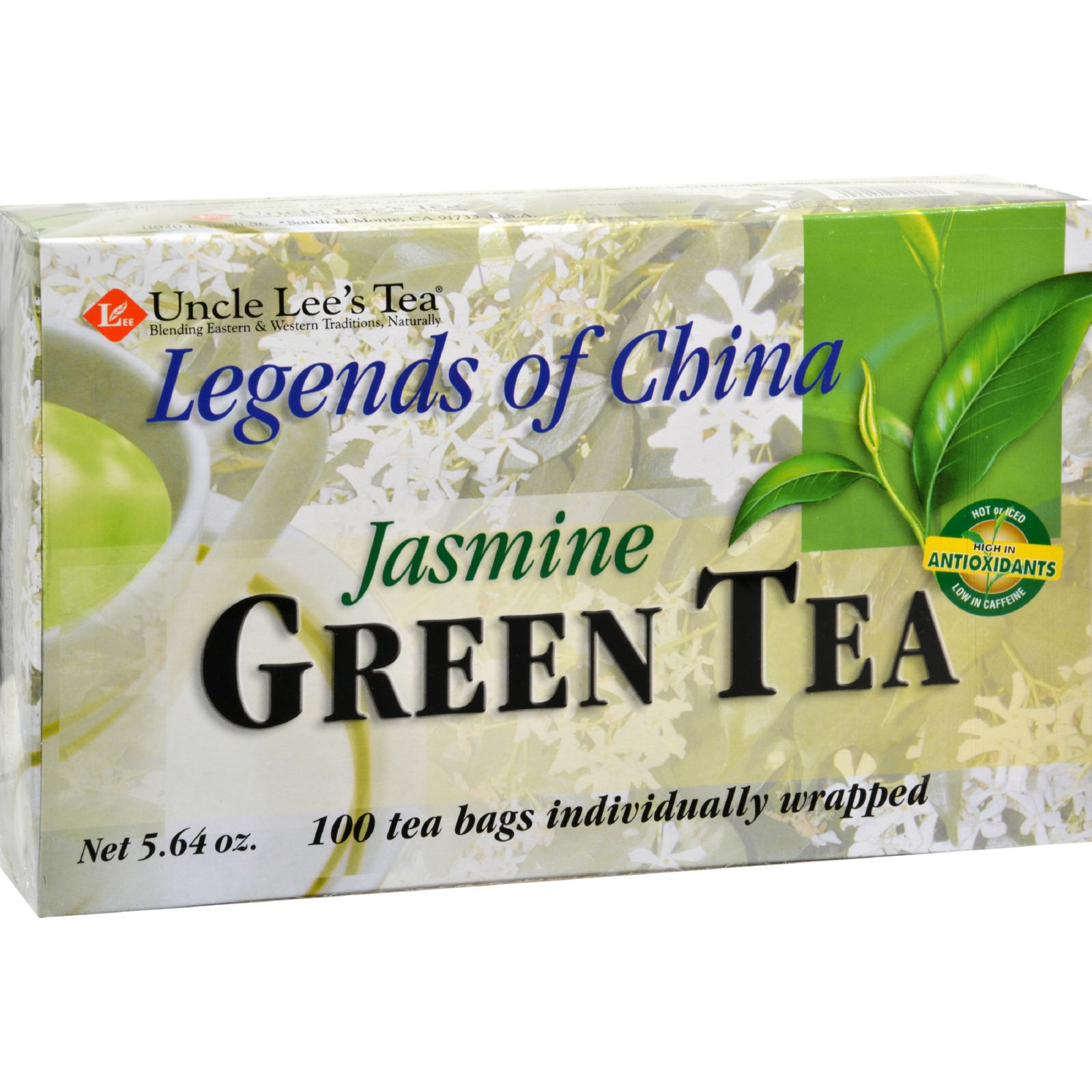 Uncle Lee's Teas Legends of China Jasmine Tea, 100 Ct