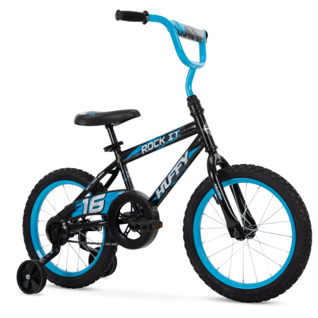 "Huffy 16"" Rock It Boys' Bike, Blue & Black"
