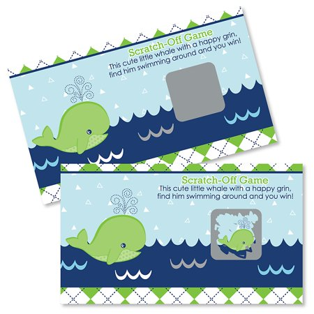 Tale Of A Whale - Party Game Scratch Off Cards - 22 Count (Sky Whale Game Halloween)