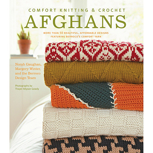 Stewart Tabori and Chang Books Comfort Knitting and Crochet Afghans