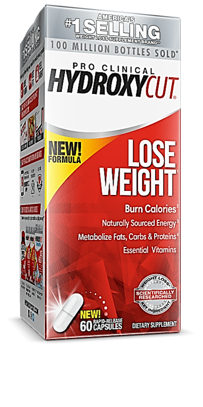 Hydroxycut Pro Clinical Weight Loss & Energy Supplement