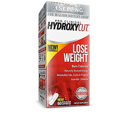 Hydroxycut Pro Clinical Metabolism Booster Diet Dietary Supplement Pills, 60