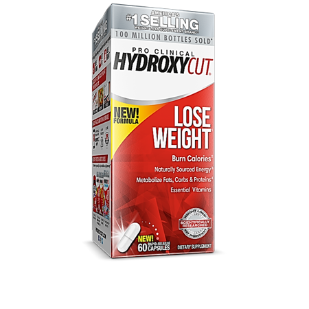 Hydroxycut Pro Clinical Weight Loss & Energy Supplement, 60 Capsules Pro Clinical Lose Weight
