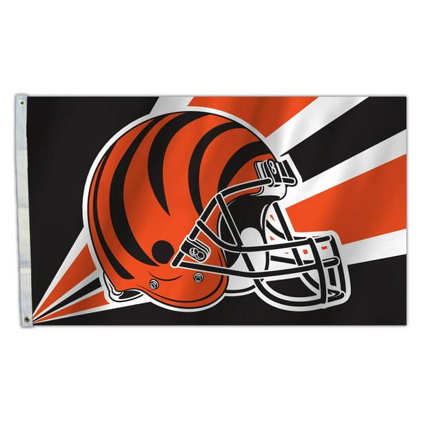 Fremont Die NFL Cincinnati Bengals Lumbar Support Cushion Black