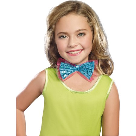 Turquoise Dance Craze Child Bowtie Child Halloween Accessory - Halloween Dance Routine