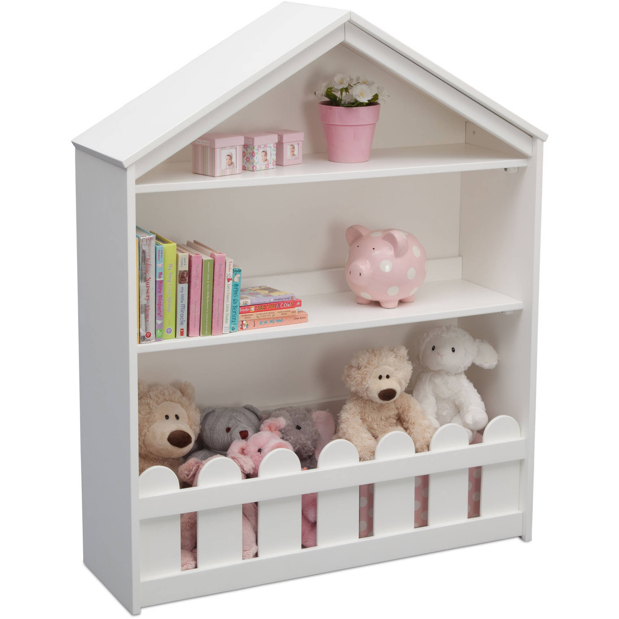 Serta Happy Home Storage Bookcase, Multiple Colors