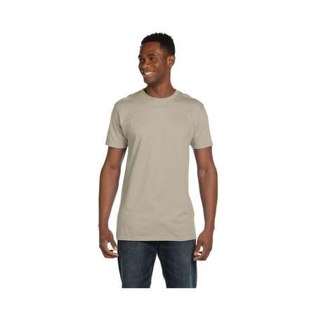 44773bf49b7952 Hanes Mens Ringspun Cotton Crewneck Nano-T T-Shirt