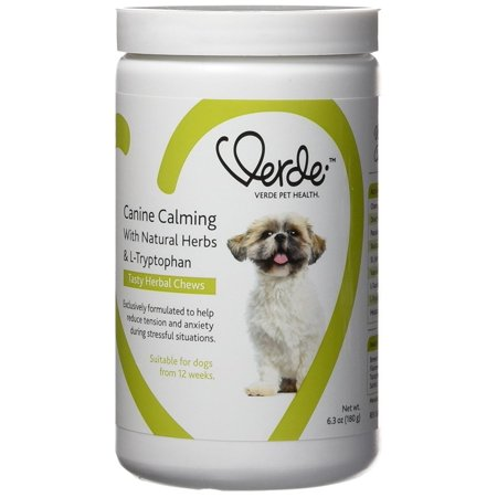 Image of Verde Pet Health Canine Calming With Natural Herbs Dog Supplement 180g