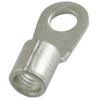 6 AWG Non-Insulated Ring Terminal 3/8 Stud PK20 POWER FIRST