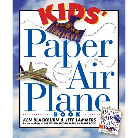 Kids' Paper Airplane Book - Paperback
