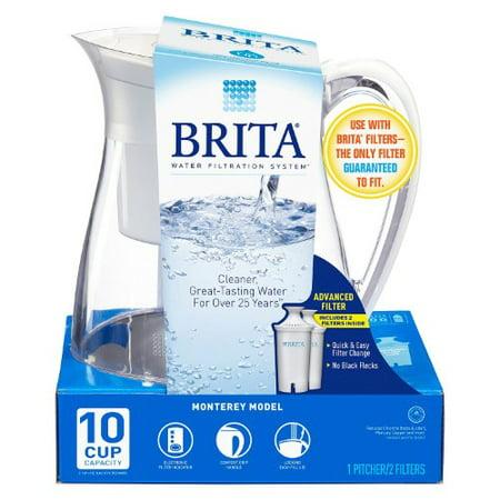 Brita Monterey Water Filter Pitcher 2 Brita Filters