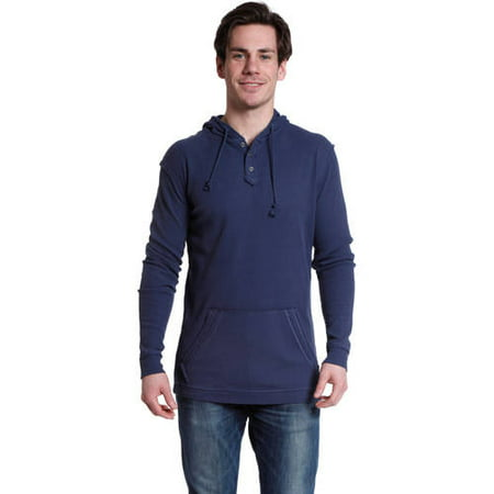 Stanley Men's Long Sleeve Sueded Jersey Henley Shirt