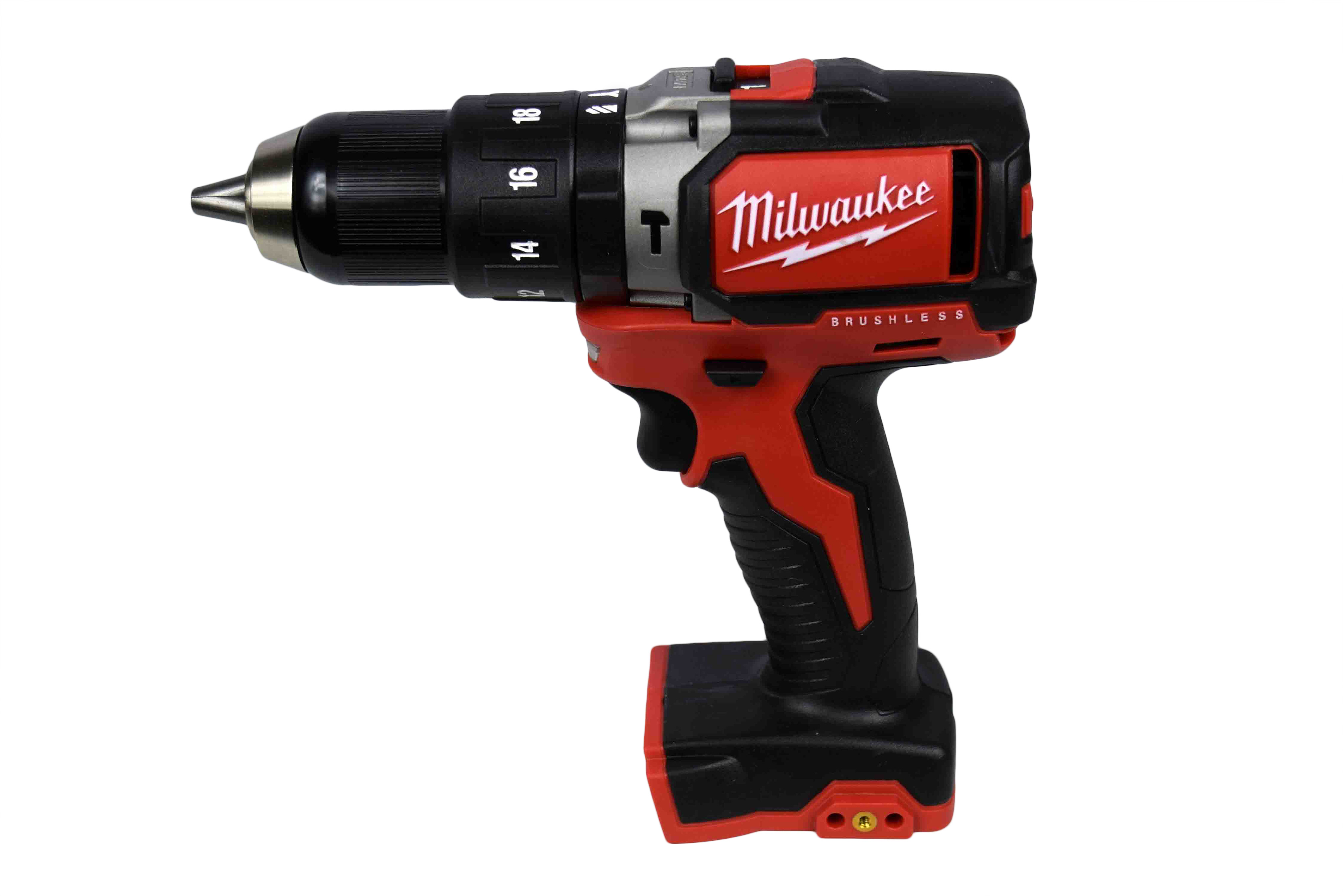 """Milwaukee 2702-20 M18 1 2"""" Compact Brushless Hammer Drill Driver (Tool Only) by Milwaukee"""
