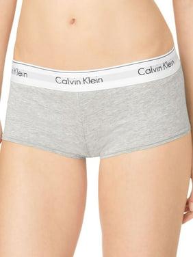 Calvin Klein Women's Modern Cotton Short, Grey Heather, Medium