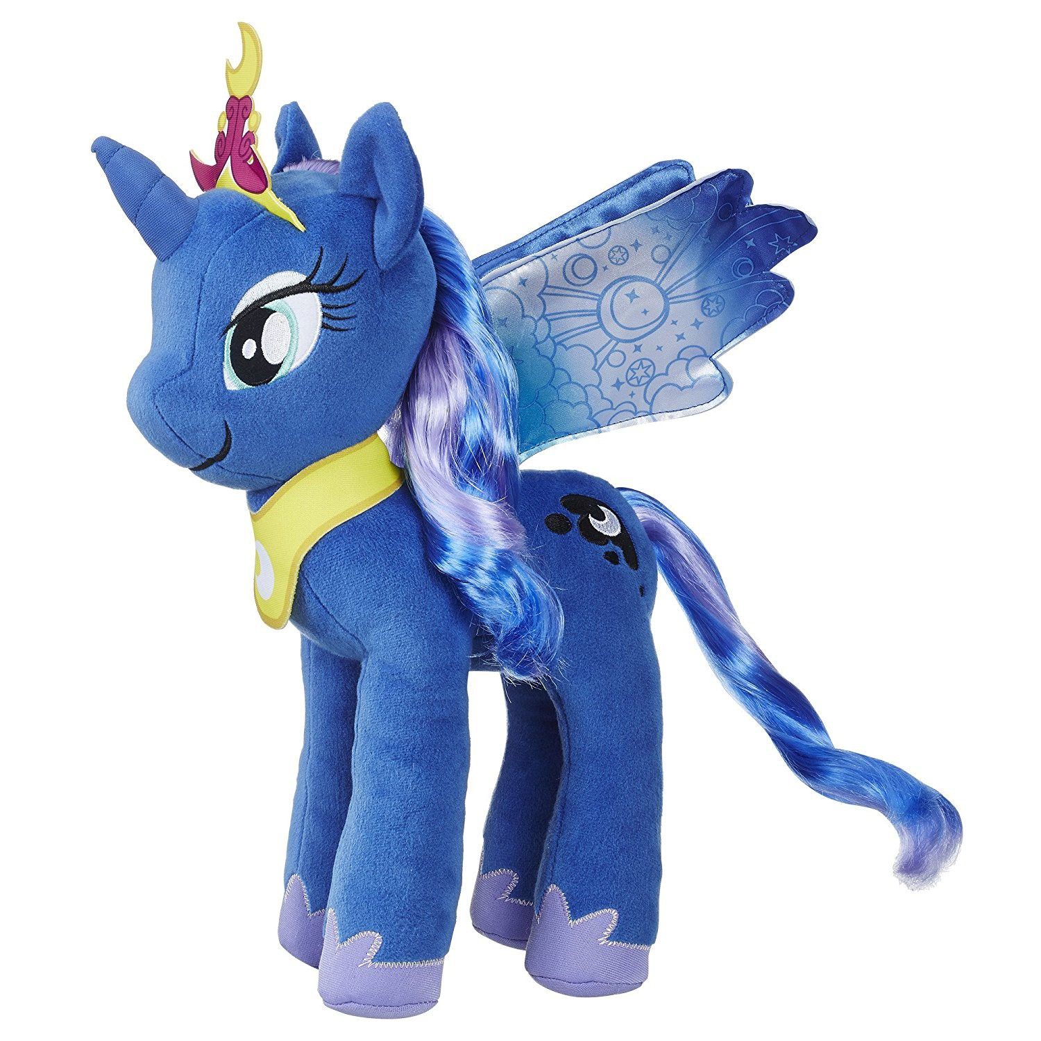 My Little Pony Large Hair Princess Luna Plush by Hasbro