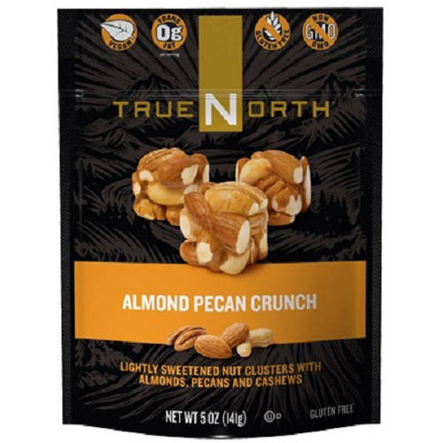 TrueNorth Nut Cluster Snacks, 5 oz Bags (Pack of 12), Multiple Flavors Available by True North