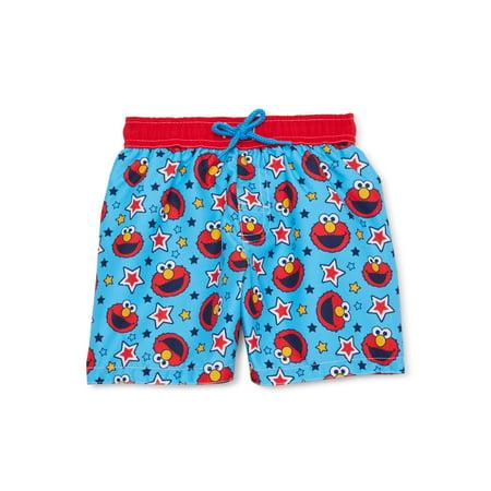 Sesame Street Elmo Baby Boy Swim Trunks Elmo Baby Clothes