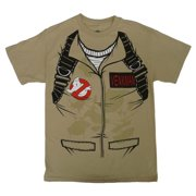 Ghostbusters Mens Glow In The Dark Venkman Costume T-Shirt