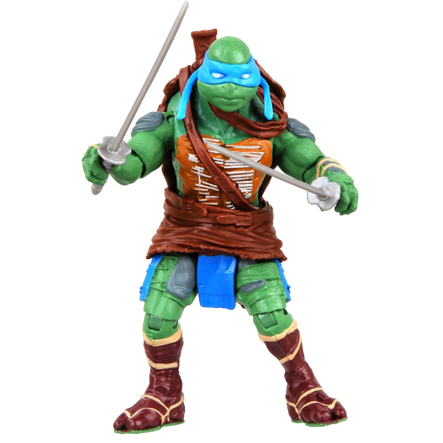 Teenage Mutant Ninja Turtles 2014 Movie Leonardo Basic Action Figure Walmart Com Walmart Com