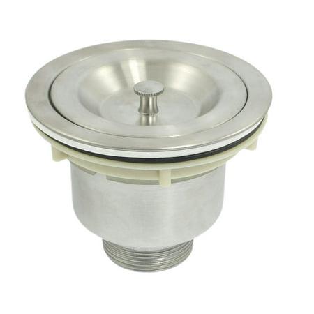 bathroom removable basket stainless steel sink drain strainer kit