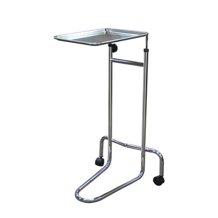 Drive Medical Mayo Instrument Stand, Double Post (Double Post Mayo Stand)