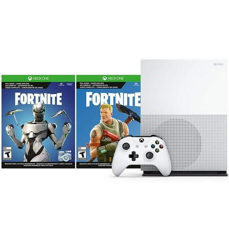 Microsoft Xbox One S Fortnite V Bucks And Skin Bundle 2 000 V Bucks