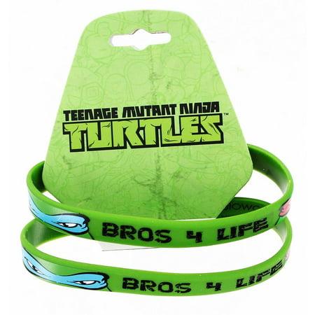 Bros 4 Life Green Rubber Bracelet 2-Pack - Bracelet Light