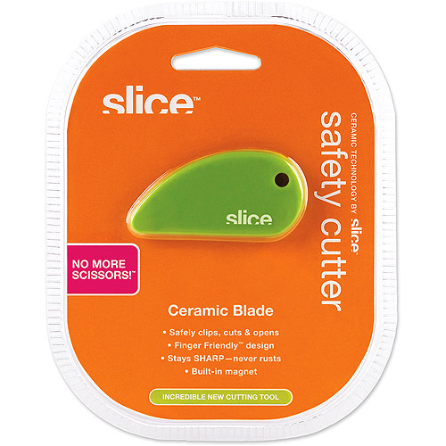 Slice Ceramic Safety Cutter, Green