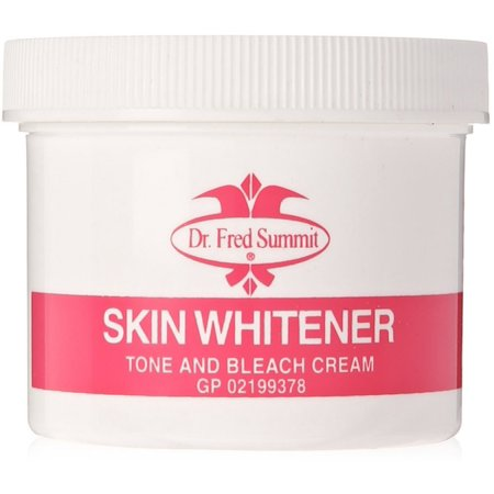Dr. Fred Summit Skin Whitener Tone & Bleach Cream 4 oz