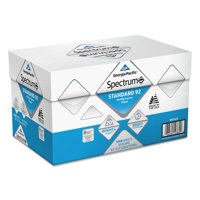 Georgia Pacific Spectrum Standard 92 Multipurpose Paper, 8 1 2 x 11, 20lb, White, 5000 SHeets by Georgia Pacific