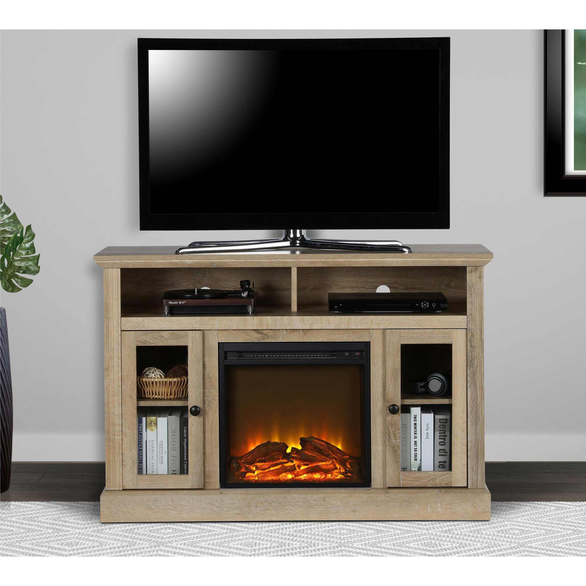 Ameriwood Home Chicago Electric Fireplace TV Console for TVs up to a 50\ by Ameriwood