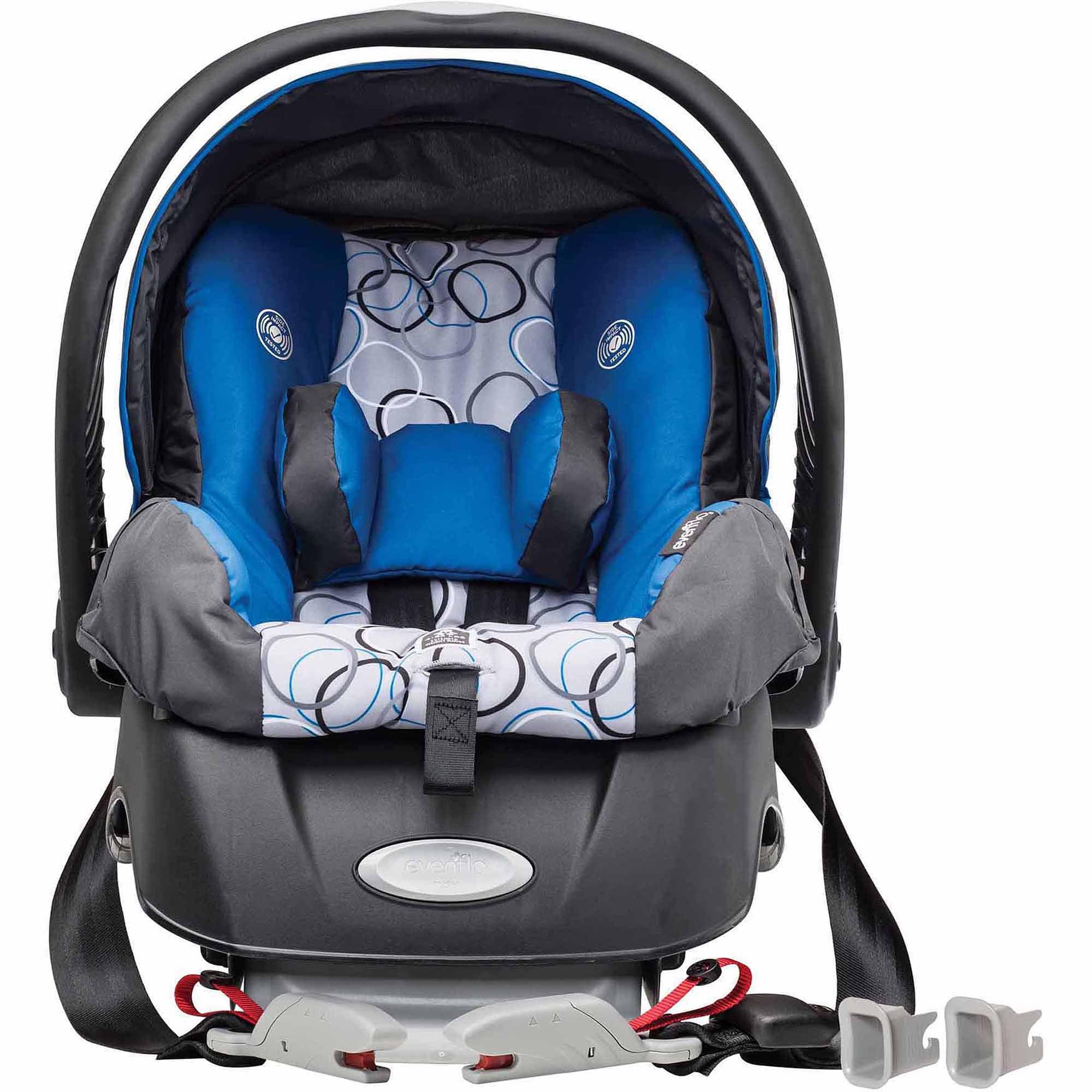 Evenflo Embrace Select Infant Car Seat with Sure Safe Installation, Ashton