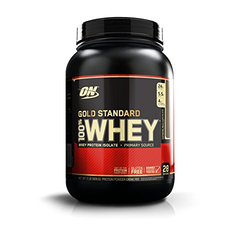 Optimum Nutrition 100% Whey Gold Standard, Extreme Milk Chocolate, 2 Pound