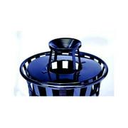 Witt Industries M3601-ATL-BK Ash urn lid only for M3601- black