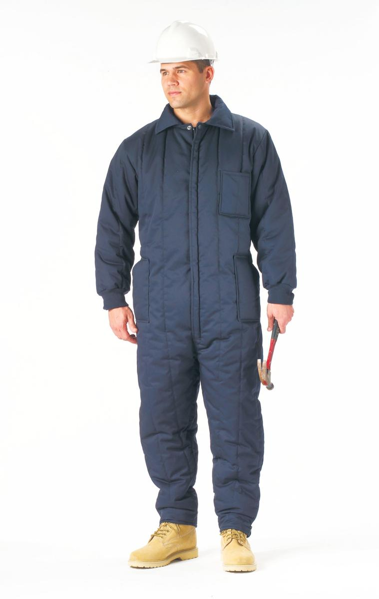 Men's Navy Blue Insulated Coveralls by Rothco