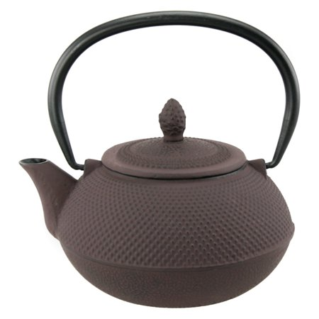 Creative Home Kyusu 30 oz. Cast Iron Teapot