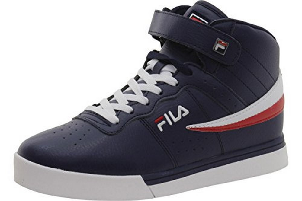 Fila Vulc 13 Mid Plus Men Round Toe Synthetic Sneakers by Fila