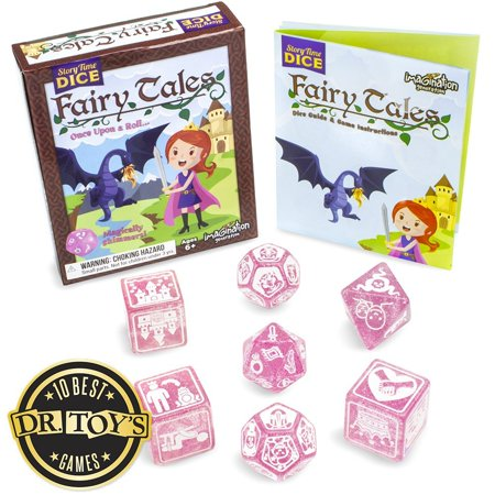 Story Time Dice: Fairy Tales - Magically Shimmers! by, Story time dice are back and better than ever with fairy tales! Named to dr. Toy's 10 best games for 2016. By Imagination