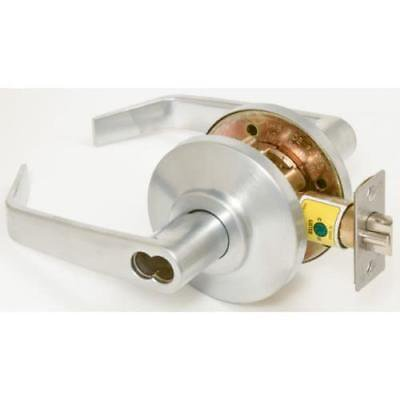 BEST Satin Chrome Reversible Classroom Cylindrical Lever