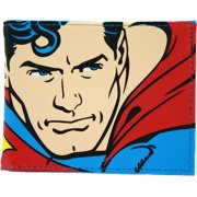 Superman Face Bi-Fold Wallet