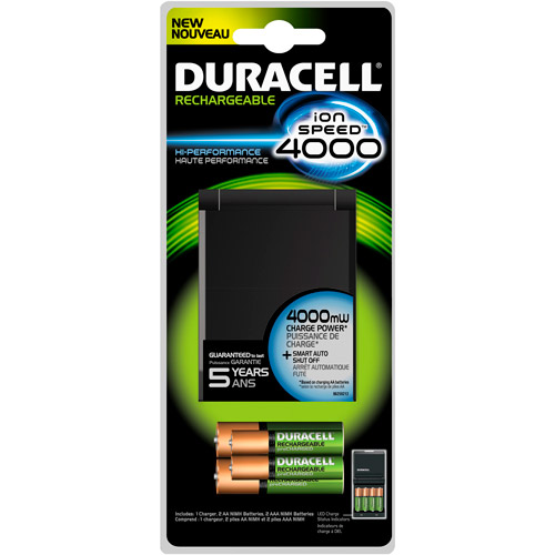 Duracell Ion Speed 4000 Household Battery Charger