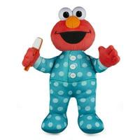 Sesame Street Brushy Brush Elmo 12-inch Plush